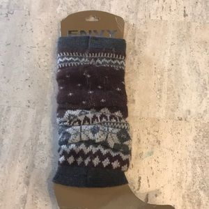 Envy leg warmers one size